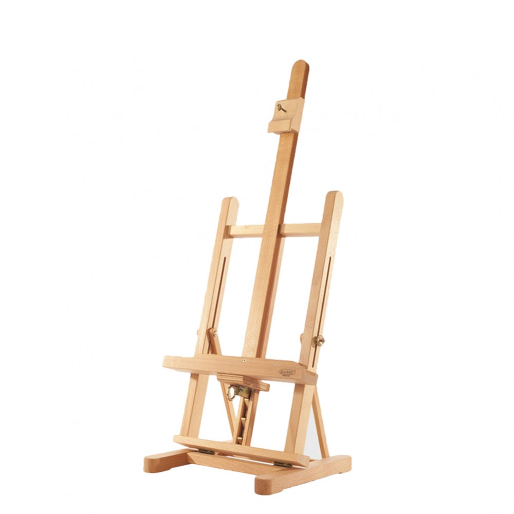 Mabef : M17 Genoa Table Easel beechwood, height: 29 to 40 in, max canvas height: 23 in