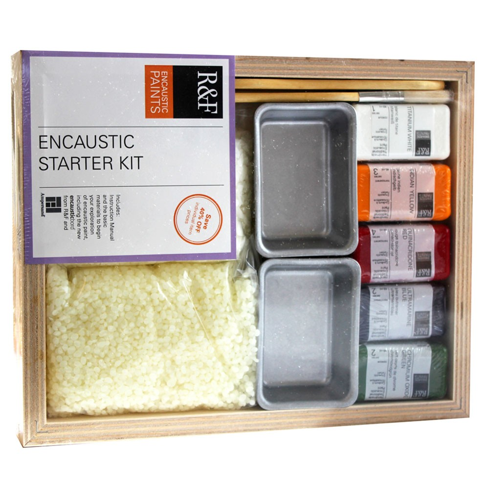 R&F : Encaustic (Wax Paint) : Starter Kit