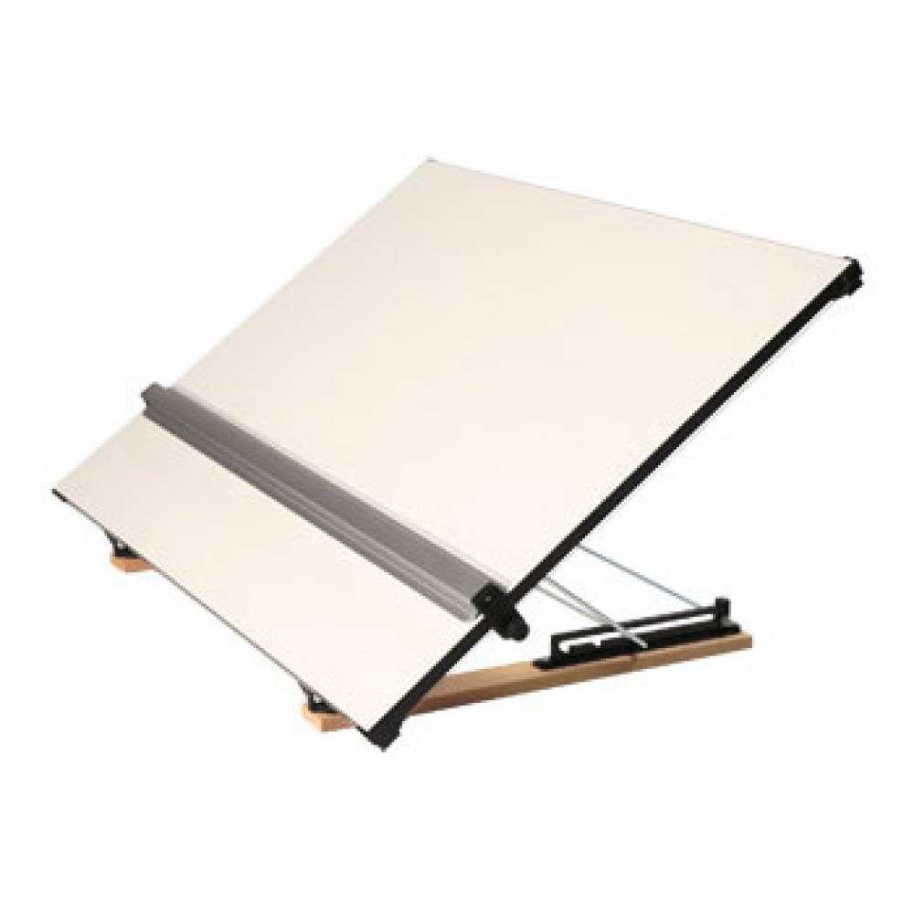 Vistaplan : Standard Grosvenor Drawing Board with Continuous Wire Parallel Motion A2 : UK Only