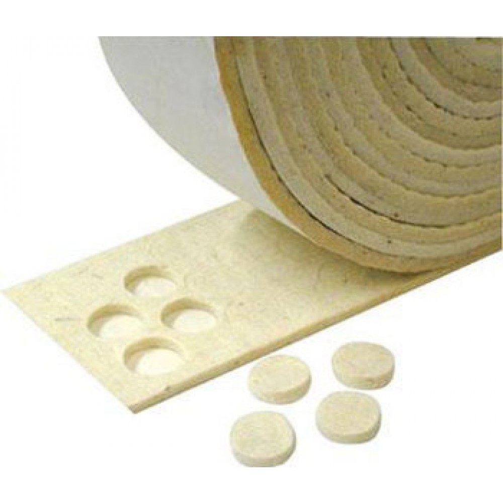 Hanging and Framing Hardware : Felt Frame Bumpers : 10 Self Adhesive Discs
