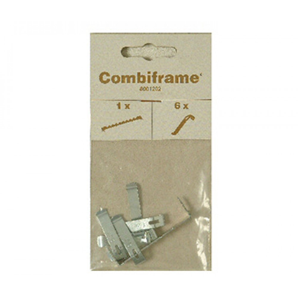 12 x Large Panel Clips 46mm and 12 x Screws