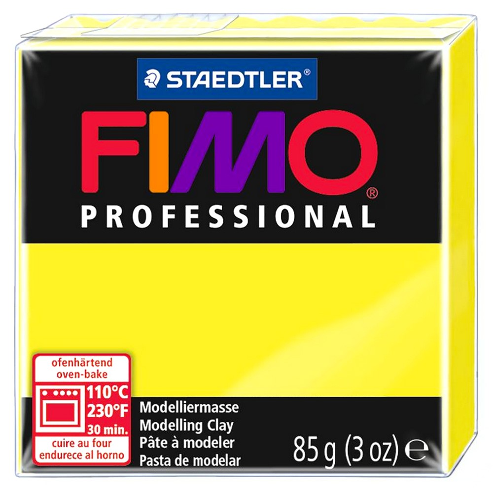 Staedtler : Fimo Professional : 85g True Yellow