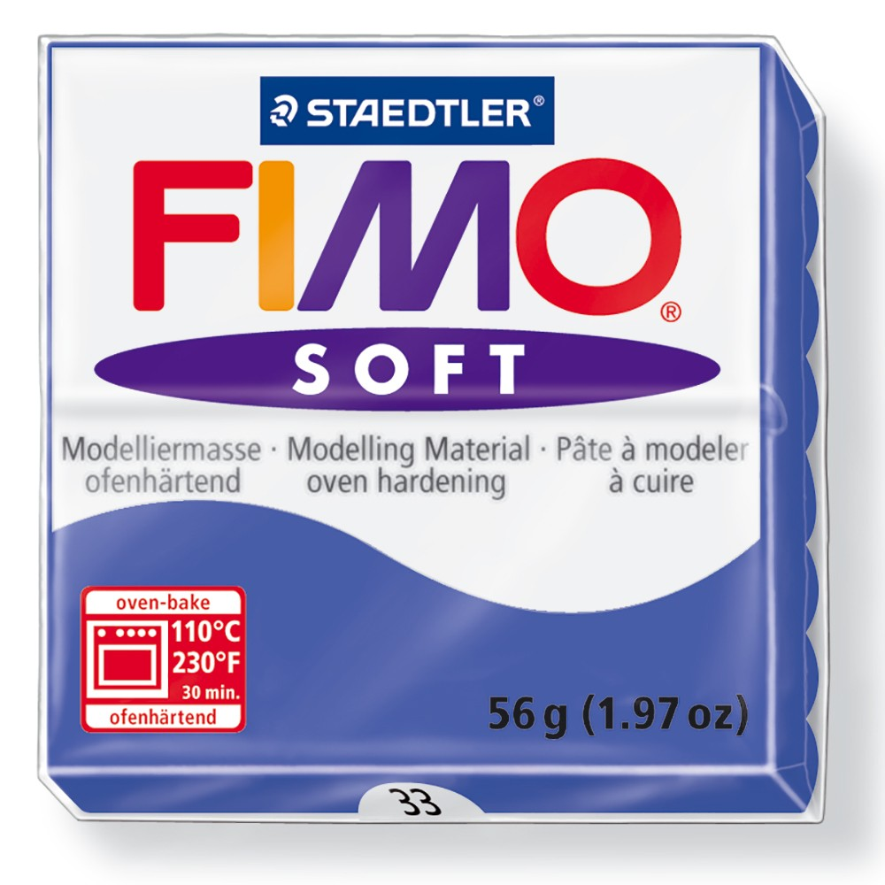 Staedtler : Fimo Soft : 57g Brilliant Blue