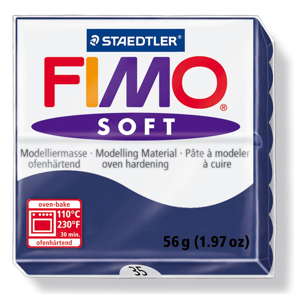 Staedtler : Fimo Soft : 57g Windsor Blue
