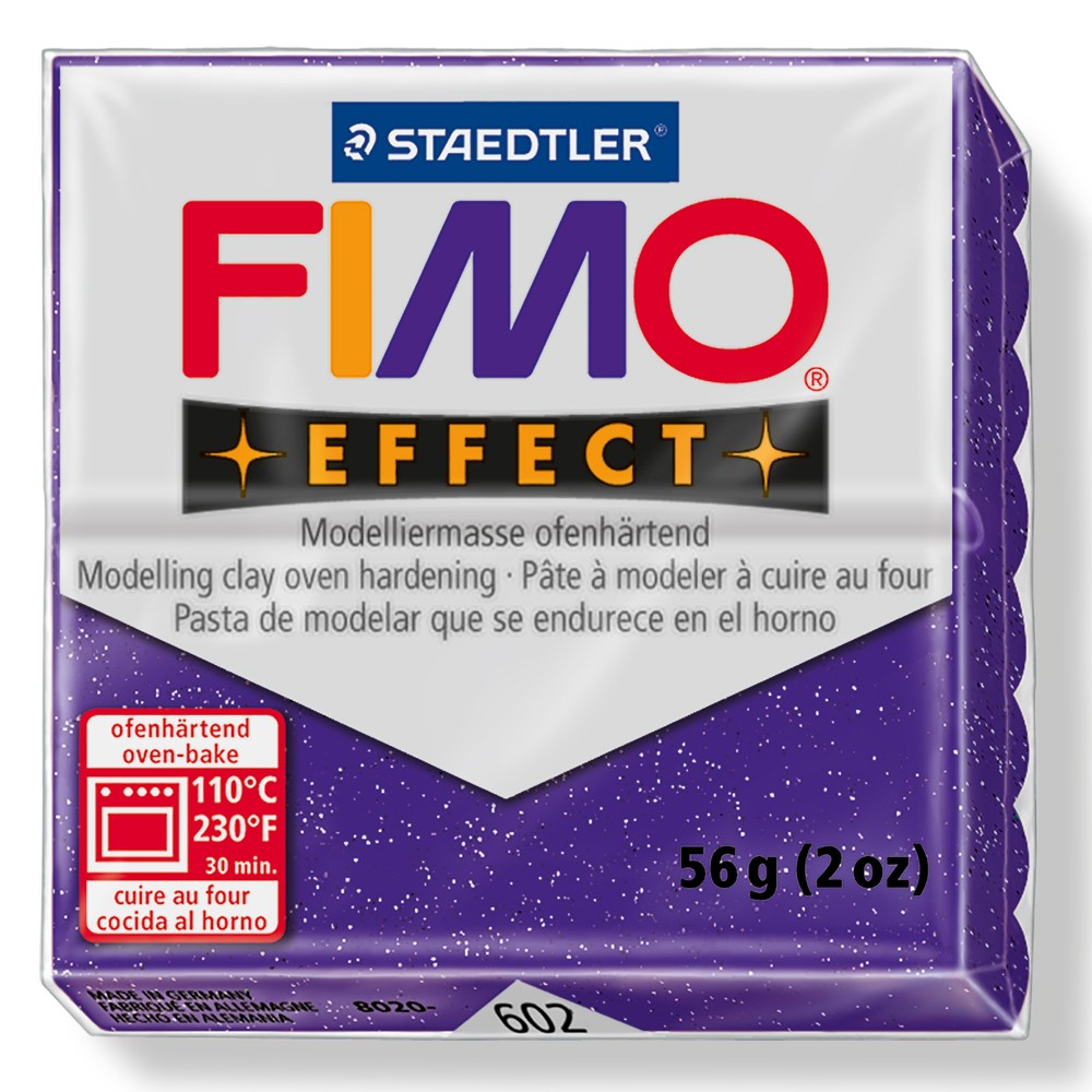 Staedtler : Fimo Effect : 57g Glitter Purple