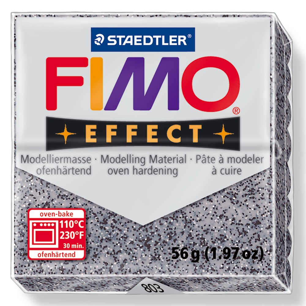 Staedtler : Fimo Effect : 57g Stone Granite