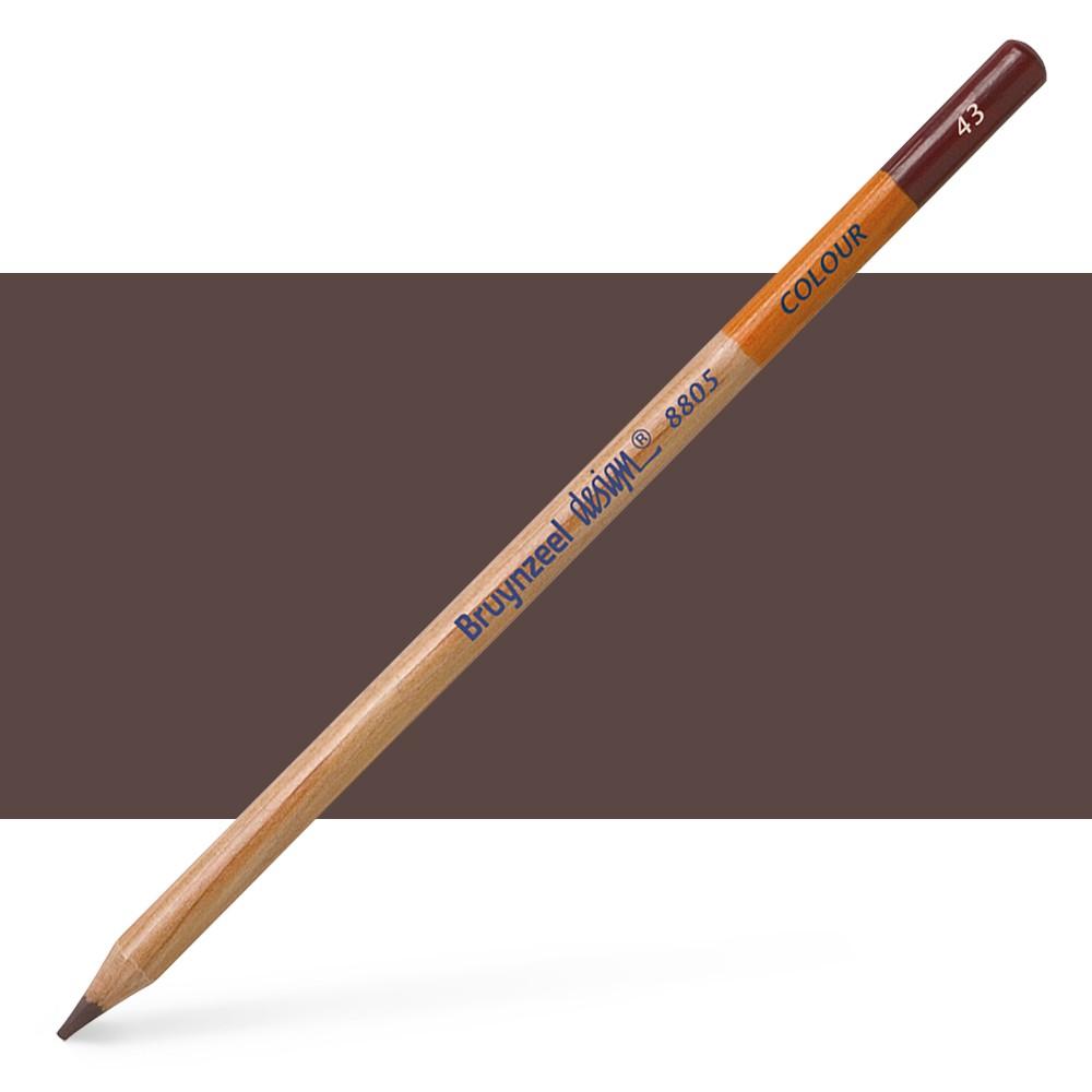 Bruynzeel : Design : Colour Pencil : Dark Brown
