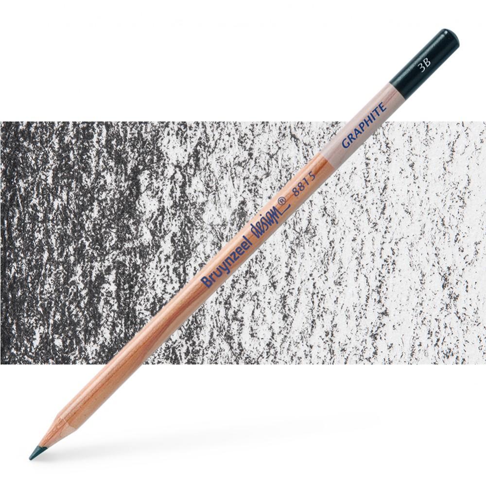 Bruynzeel : Design : Graphite Pencil : 3B