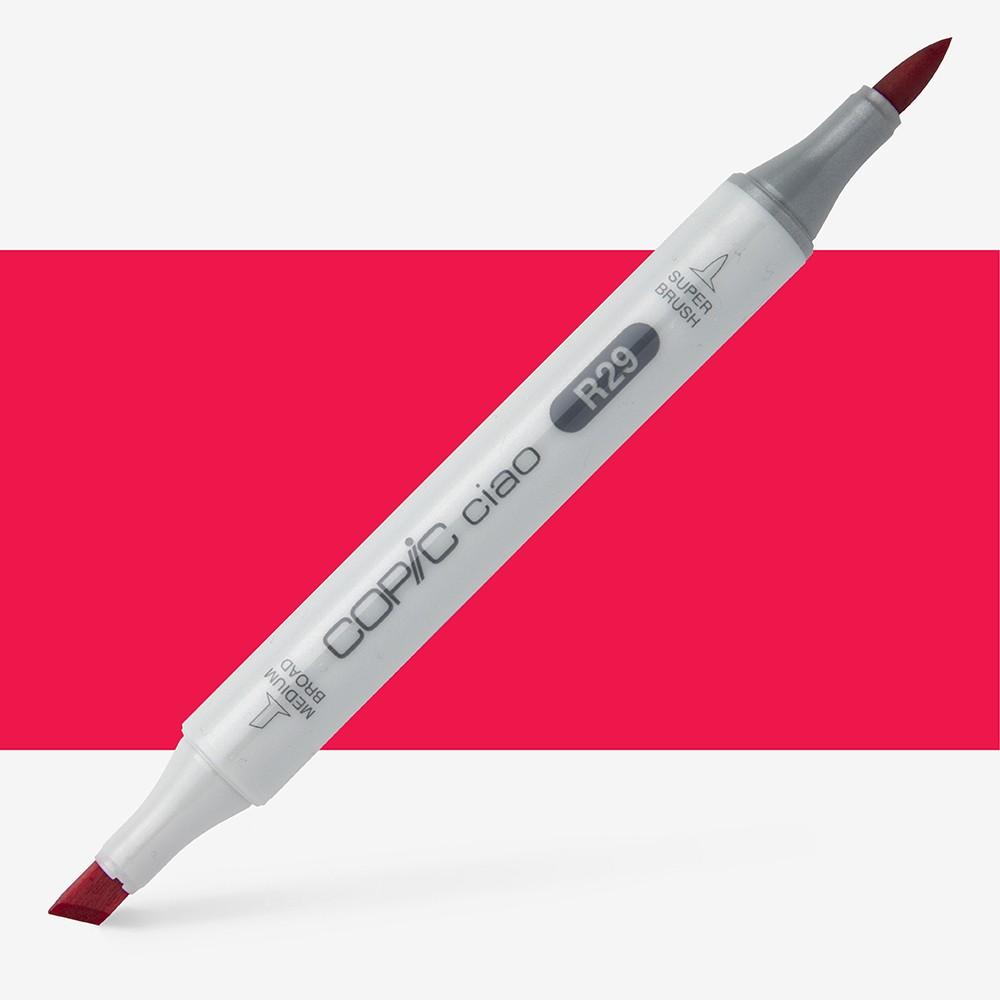Copic : Ciao Marker : Lipstick Red (R29)