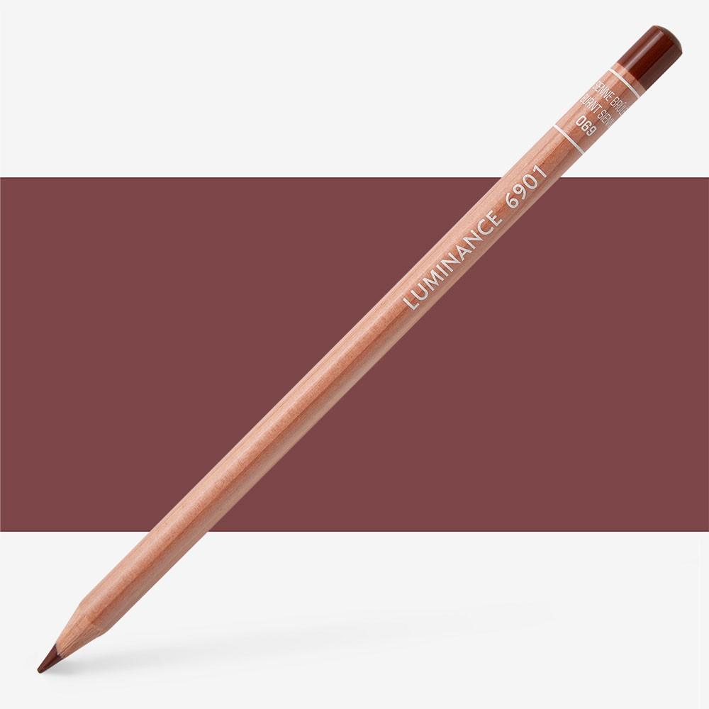 Caran d'Ache : Luminance 6901 : Colour Pencil : Burnt Sienna