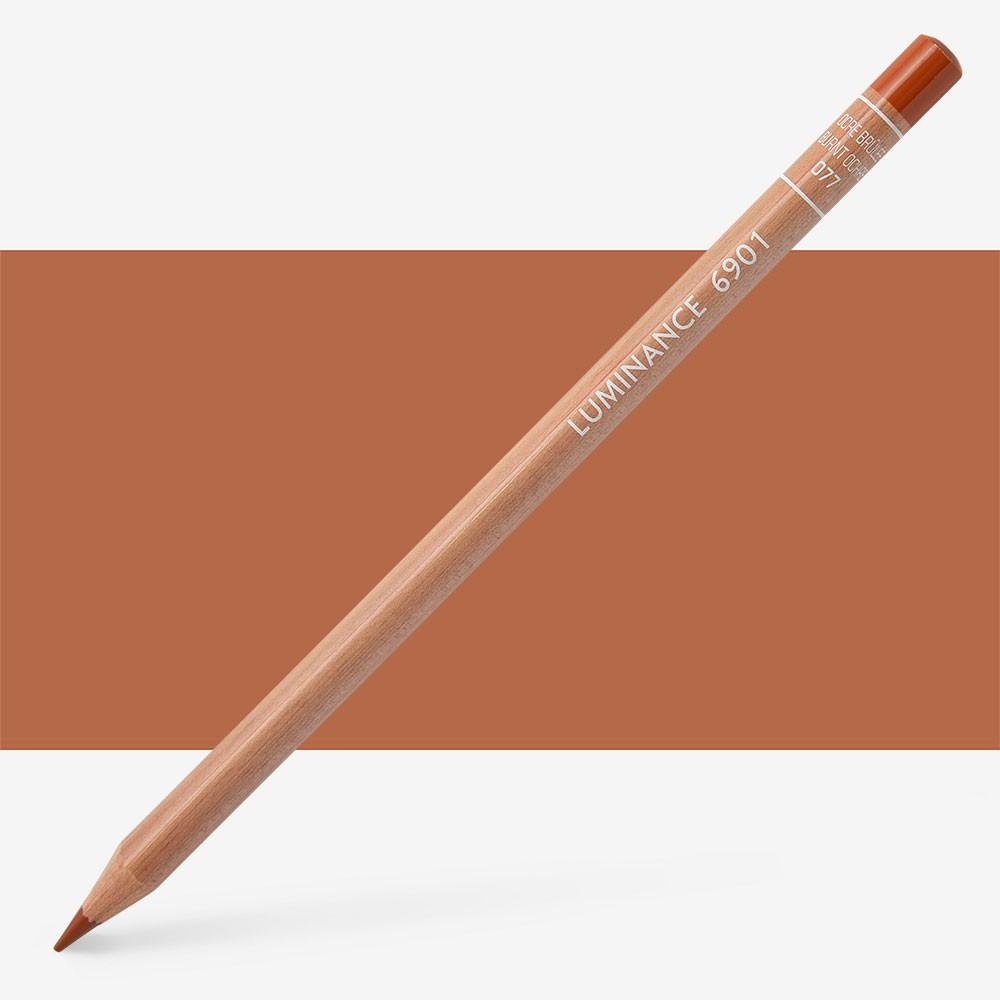 Caran d'Ache : Luminance 6901 : Colour Pencil : Burnt Ochre