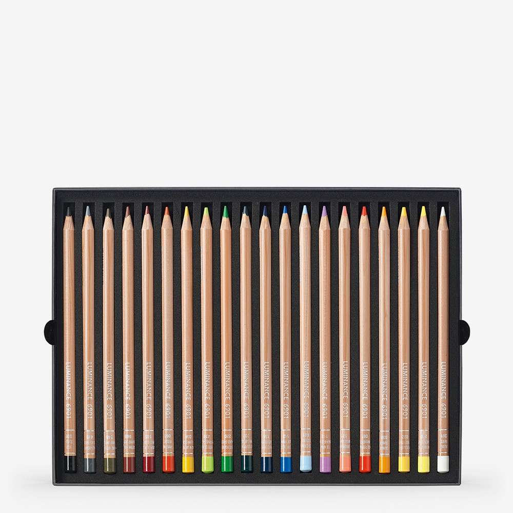 Caran d'Ache : Luminance 6901 : Colour Pencil : Set of 20