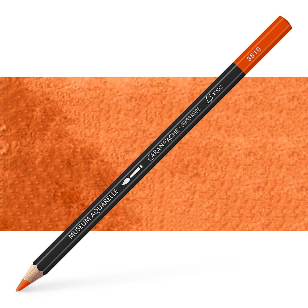 Caran d'Ache : Museum Aquarelle Pencil : Brown Ochre