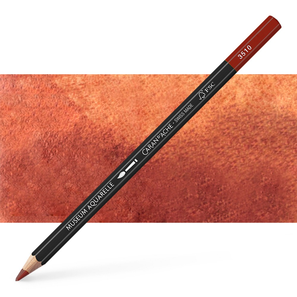Caran d'Ache : Museum Aquarelle Pencil : Cinnamon