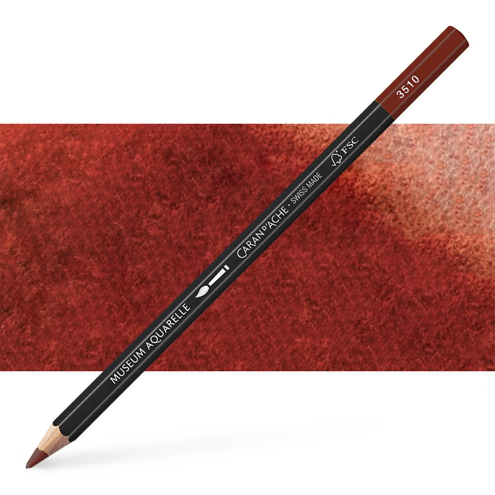 Caran d'Ache : Museum Aquarelle Pencil : Chestnut