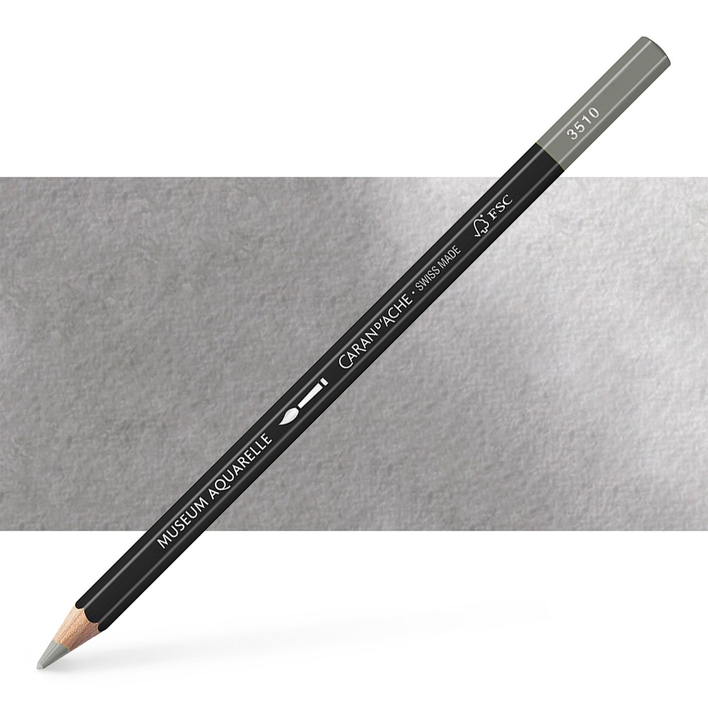 Caran d'Ache : Museum Aquarelle Pencil : Slate Grey