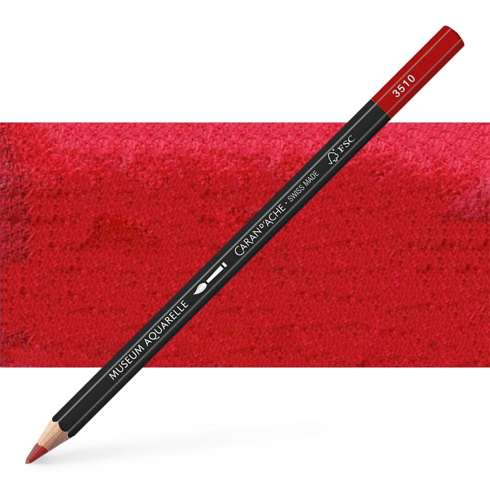 Caran d'Ache : Museum Aquarelle Pencil : Crimson Aubergine