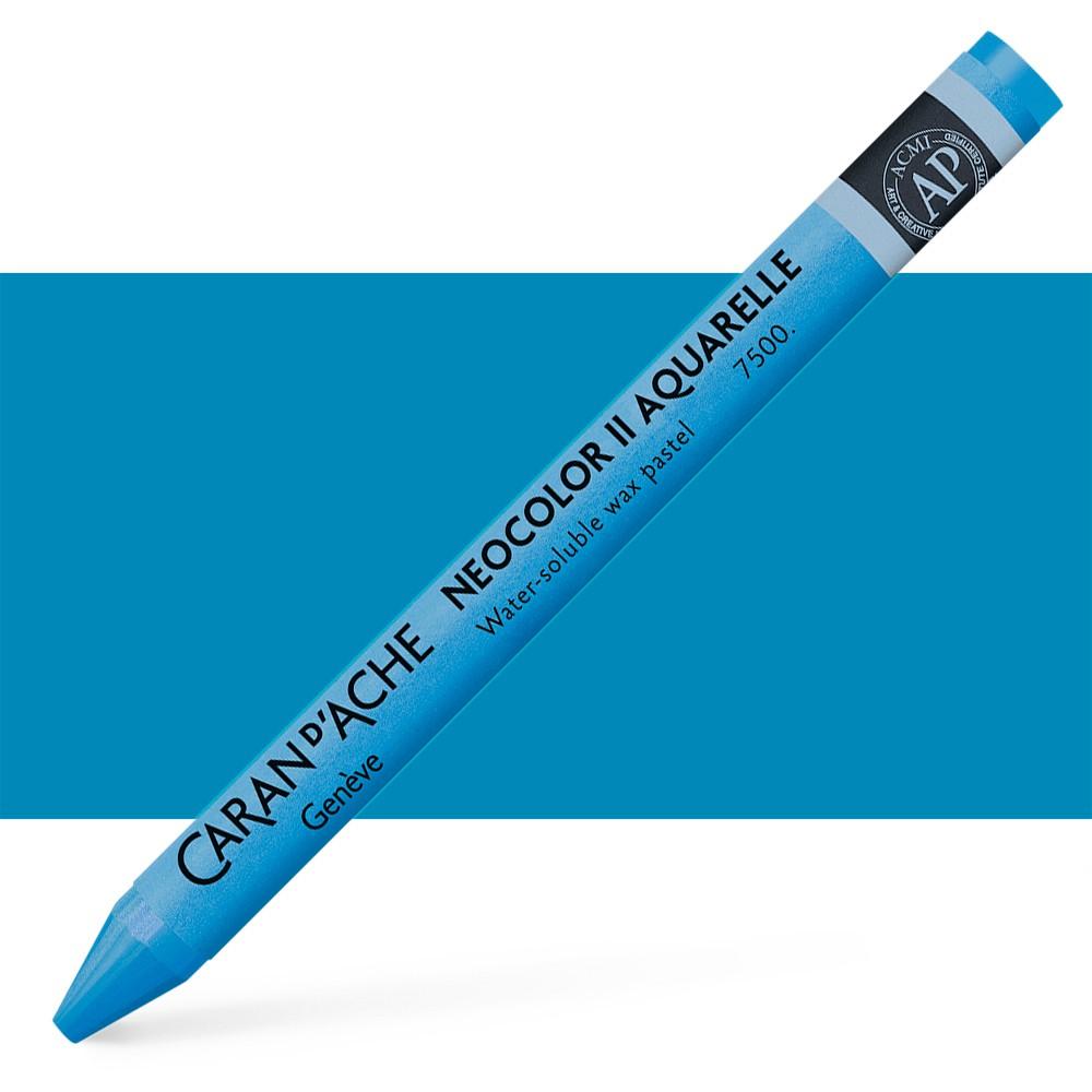 Caran d'Ache : Neocolor II : Watercolour Crayon : Cobalt Blue
