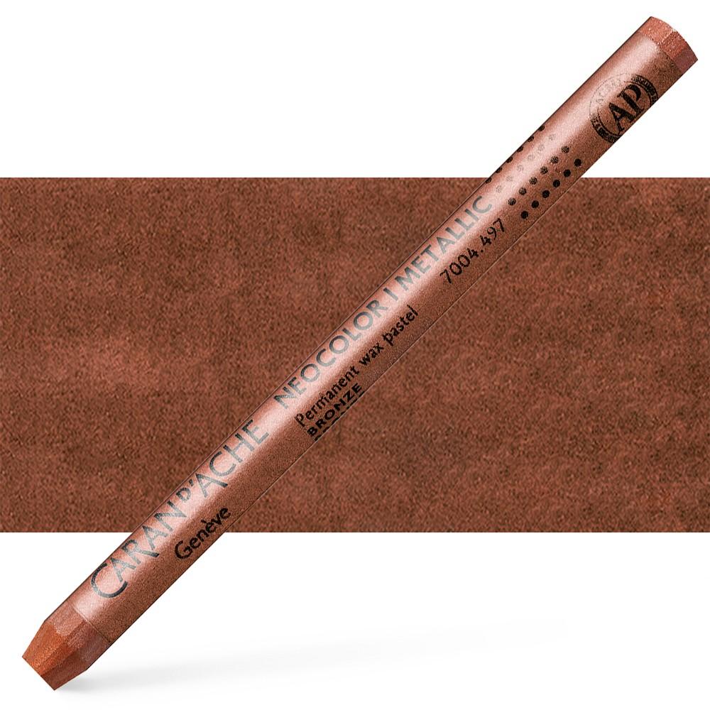 Caran d'Ache : Classic Neocolor I : Metallic Bronze