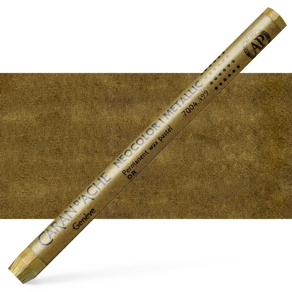 Caran d'Ache : Classic Neocolor I : Metallic Gold