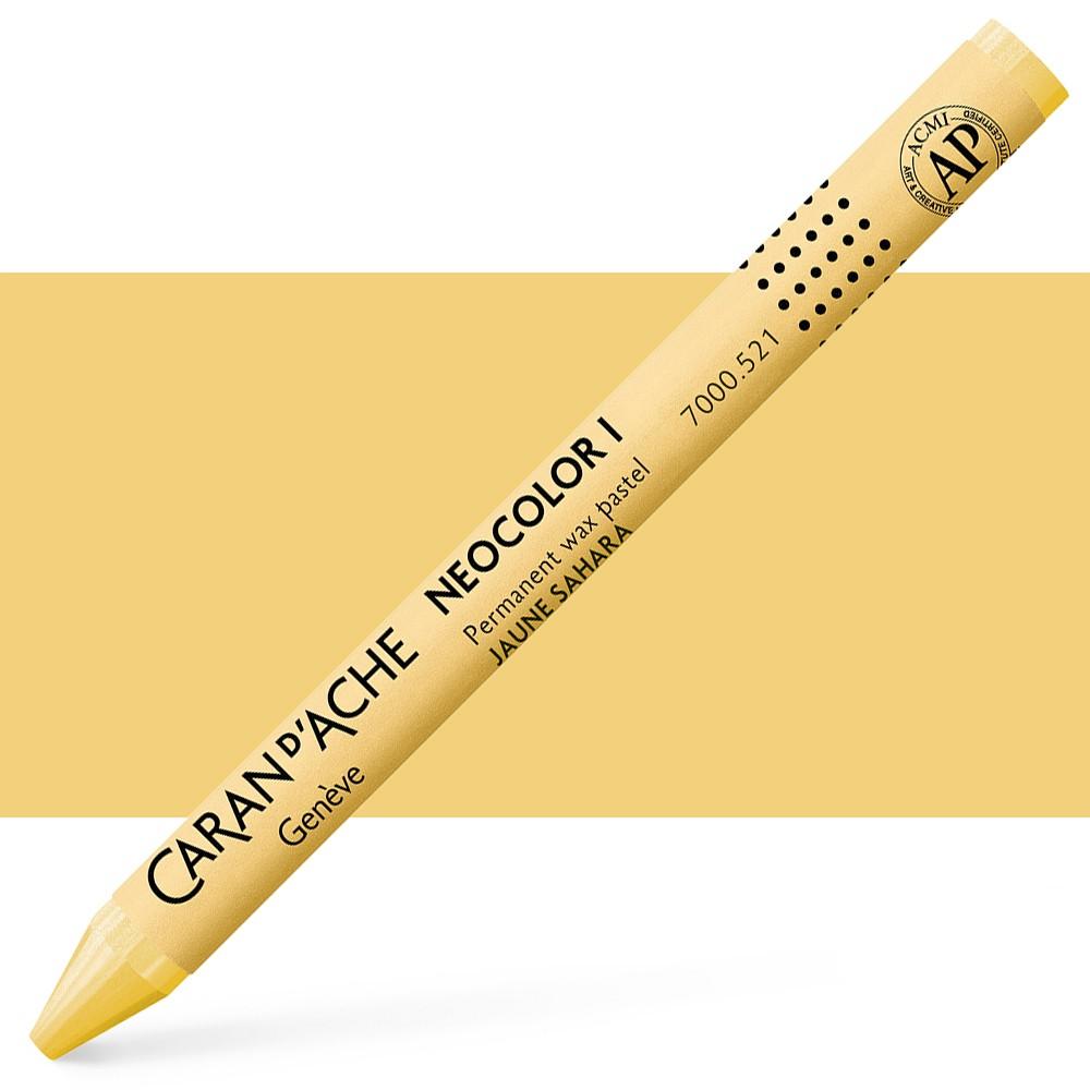 Caran d'Ache : Classic Neocolor I : Sahara Yellow