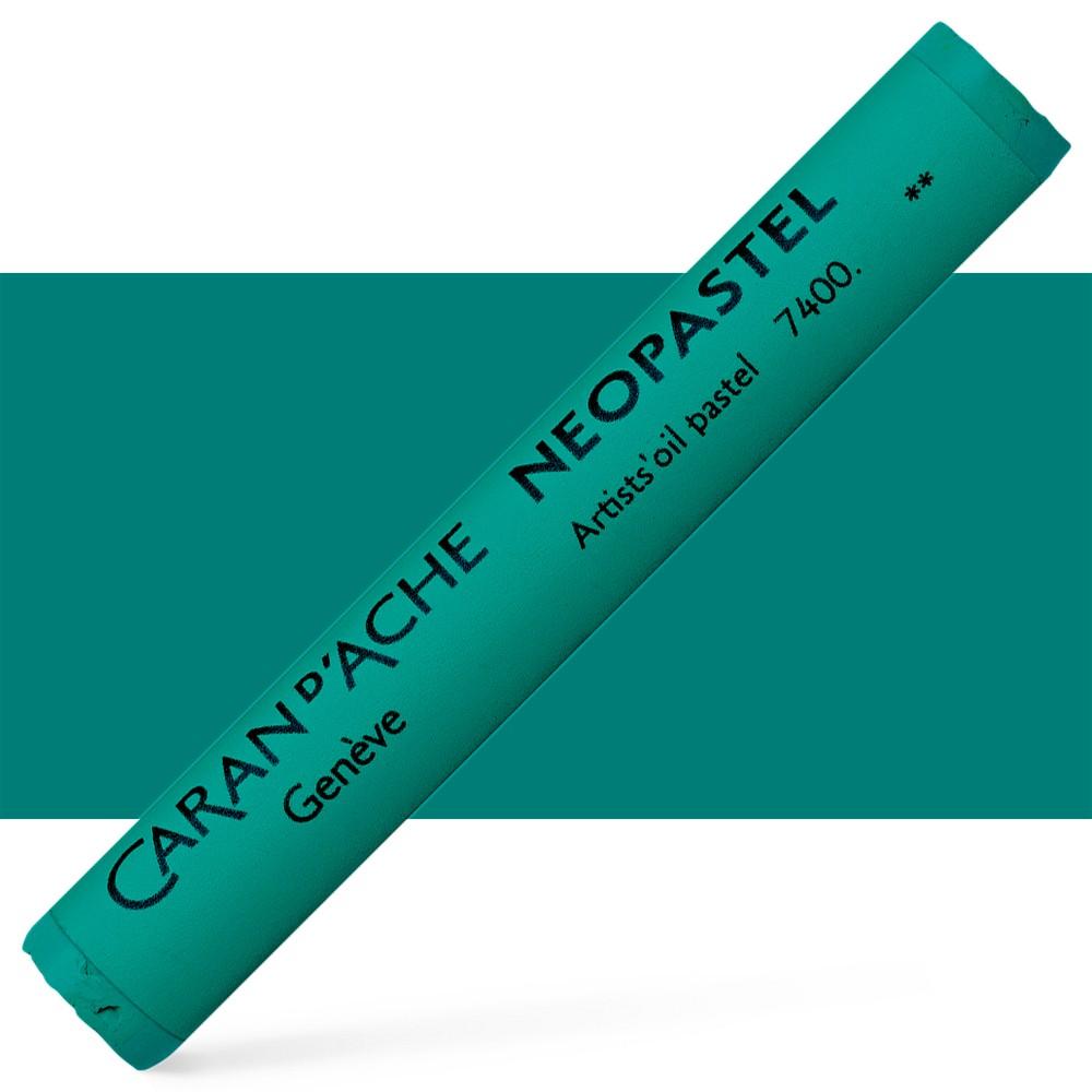 Caran d'Ache : Artist Neopastel : Bluish Green