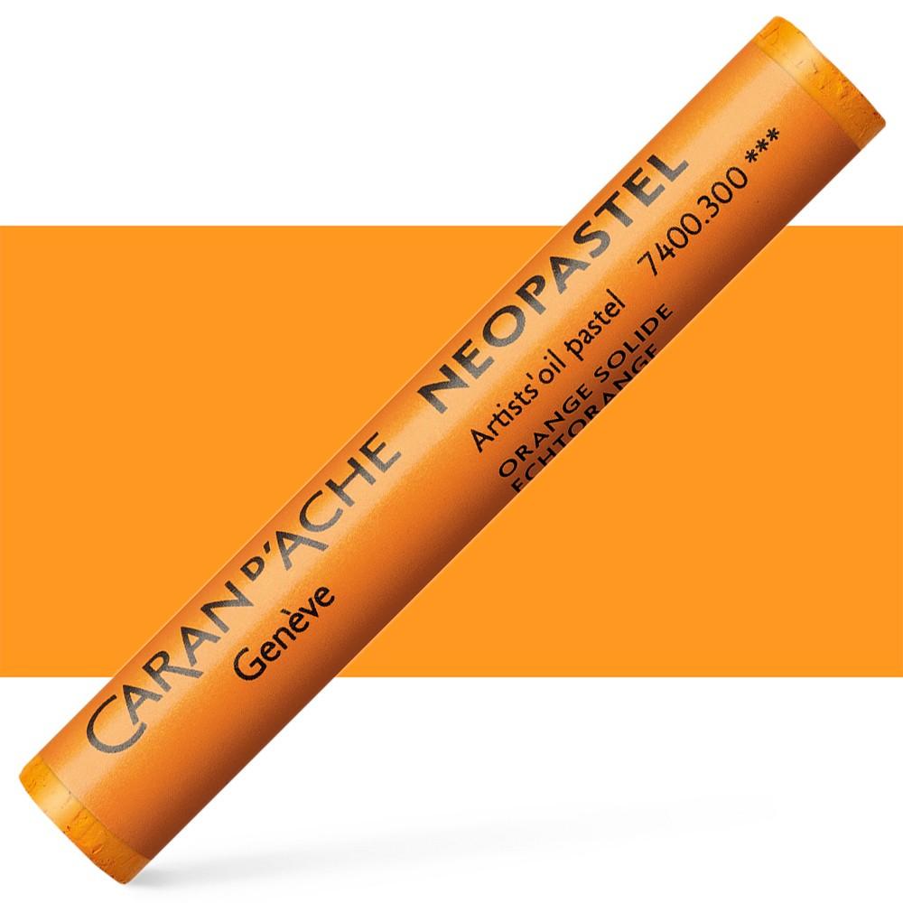 Caran d'Ache : Artist Neopastel : Fast Orange