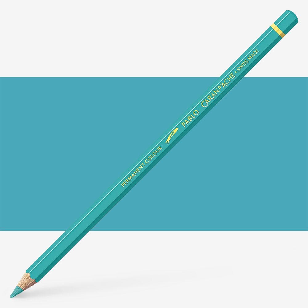 Caran d'Ache : Pablo Coloured Pencil : Steel Grey 004