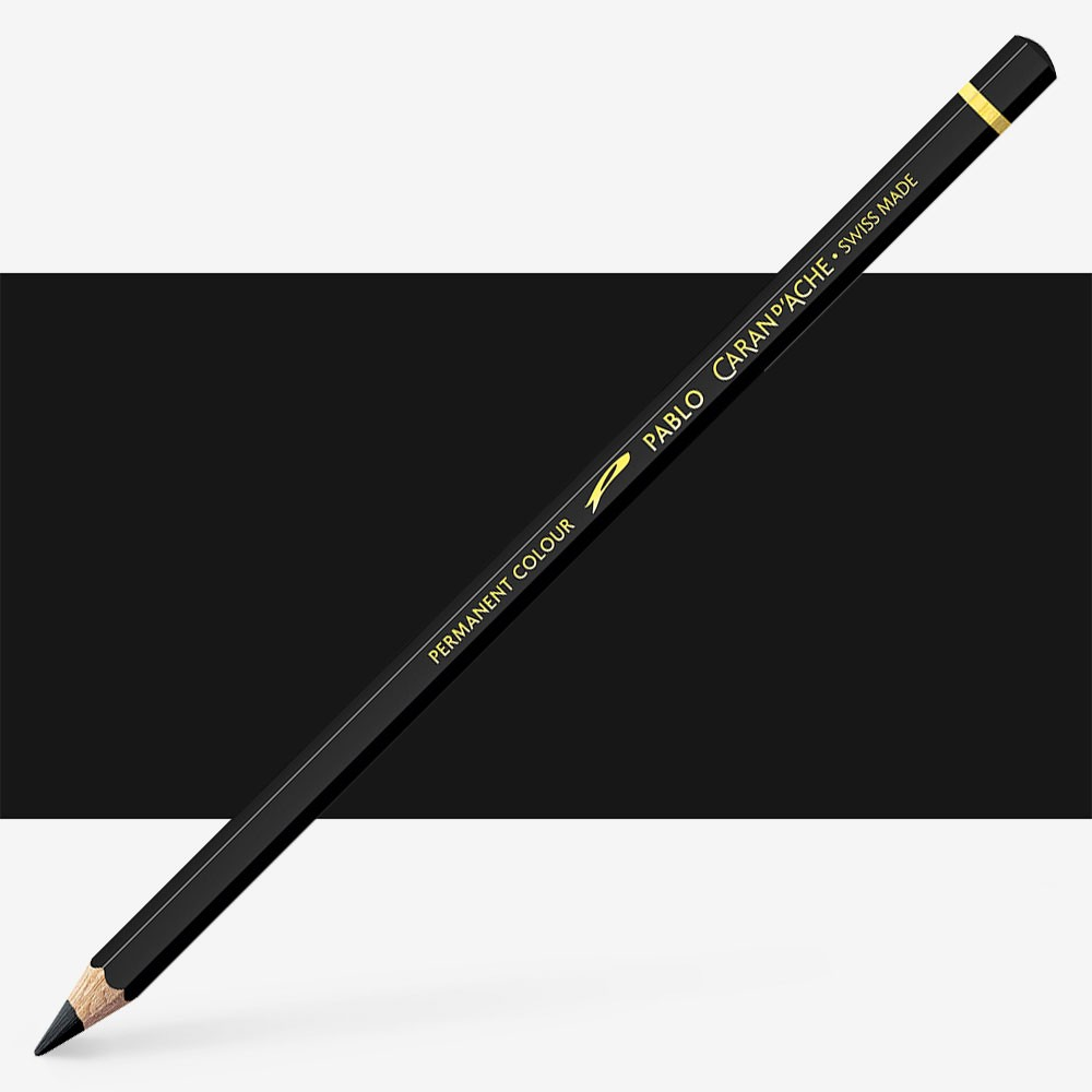 Caran d'Ache : Pablo Coloured Pencil : Black 009