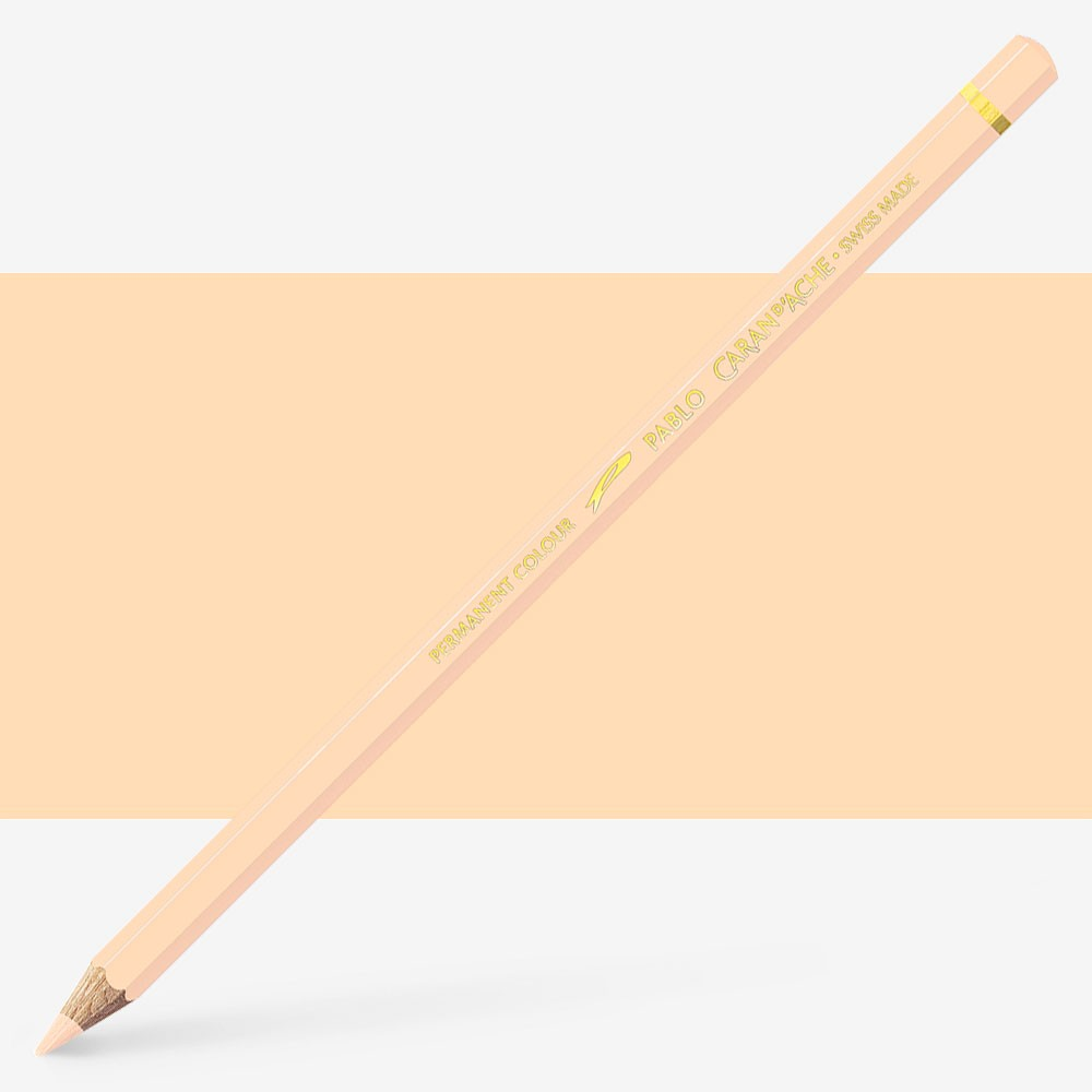 Caran d'Ache : Pablo Coloured Pencil : Naples Yellow 021