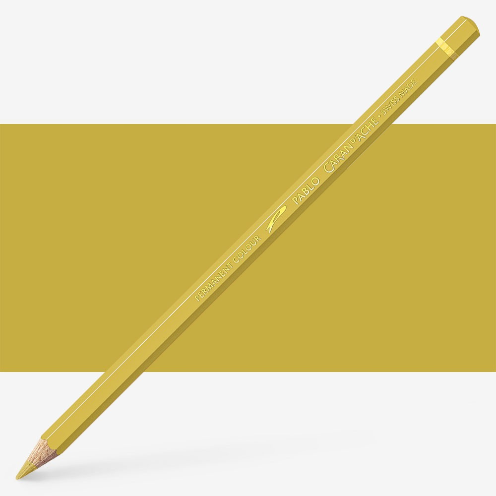 Caran d'Ache : Pablo Coloured Pencil : Golden Ochre 033