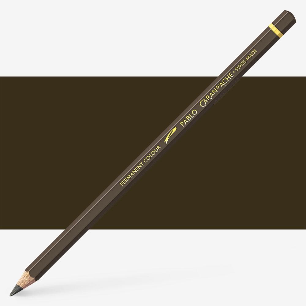 Caran d'Ache : Pablo Coloured Pencil : Raw Umber 049