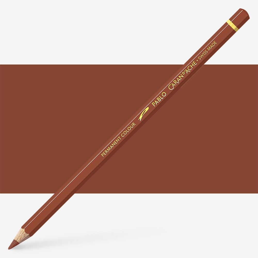 Caran d'Ache : Pablo Coloured Pencil : Cinnamon 055