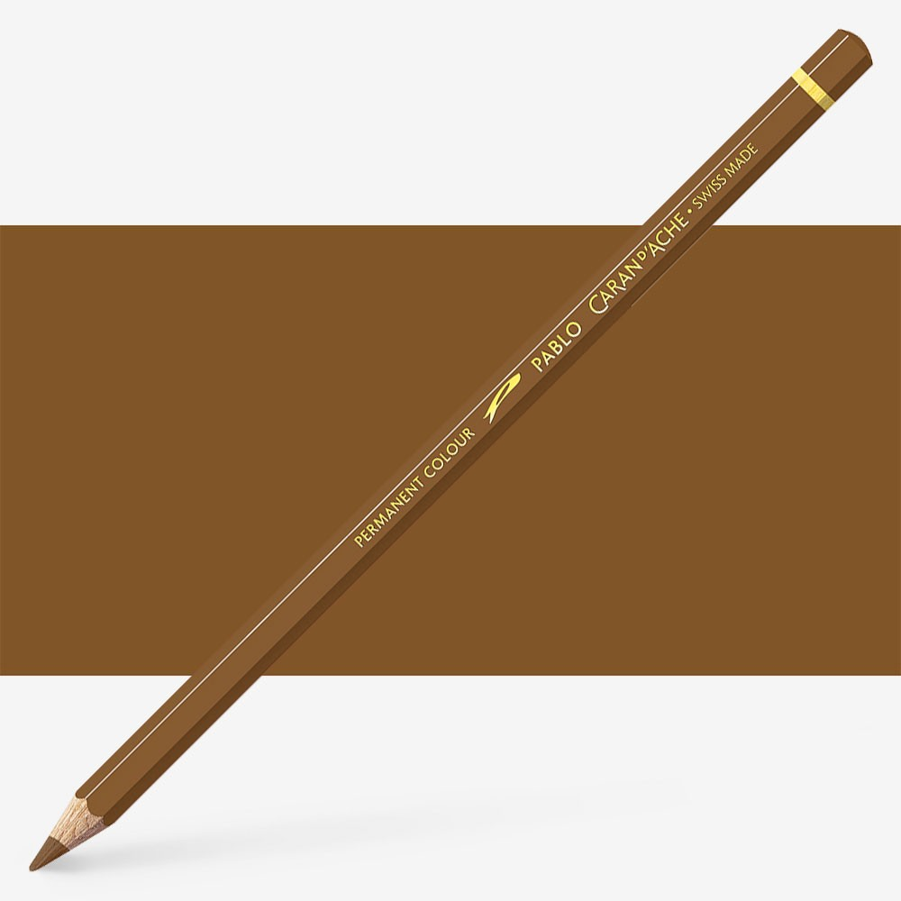 Caran d'Ache : Pablo Coloured Pencil : Chestnut 057