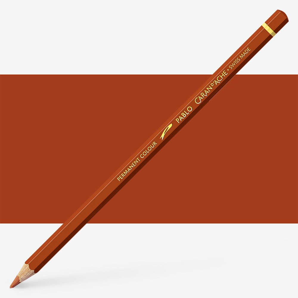 Caran d'Ache : Pablo Coloured Pencil : Russet 065