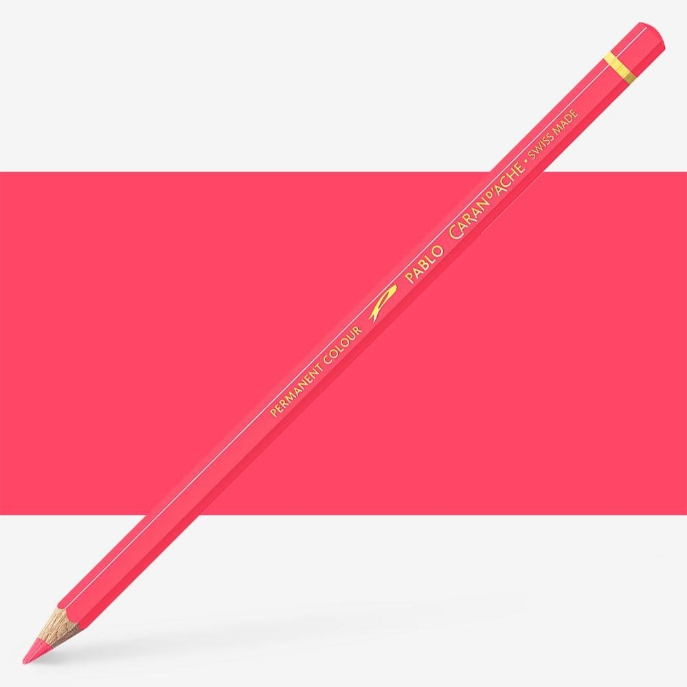 Caran d'Ache : Pablo Coloured Pencil : Rose Pink 082