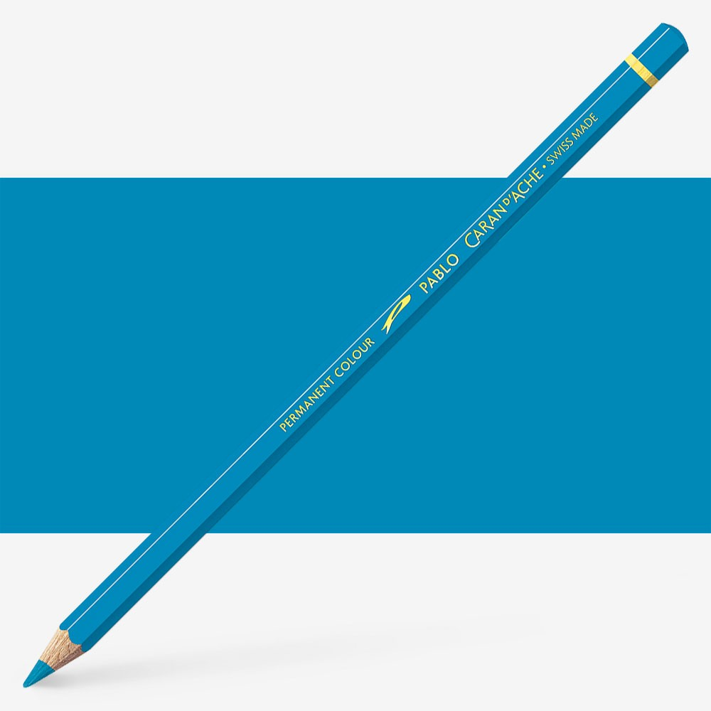 Caran d'Ache : Pablo Coloured Pencil : Azurite Blue 170