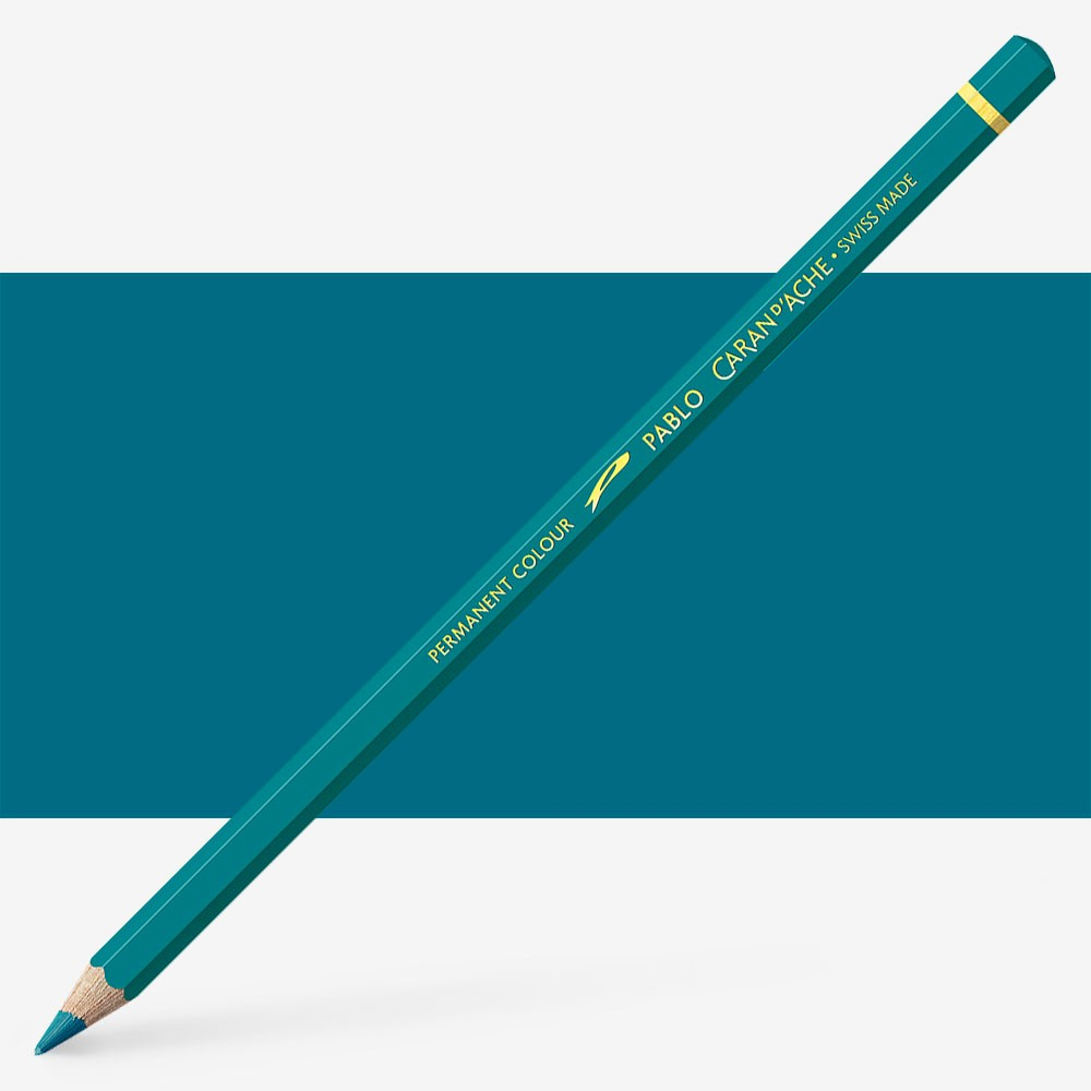 Caran d'Ache : Pablo Coloured Pencil : Malachite Green 180