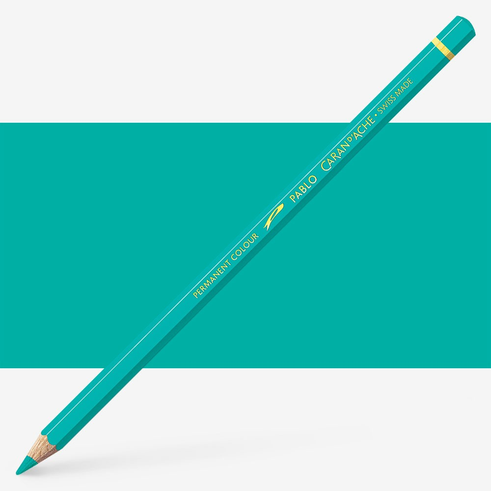 Caran d'Ache : Pablo Coloured Pencil : Turquoise Green 191