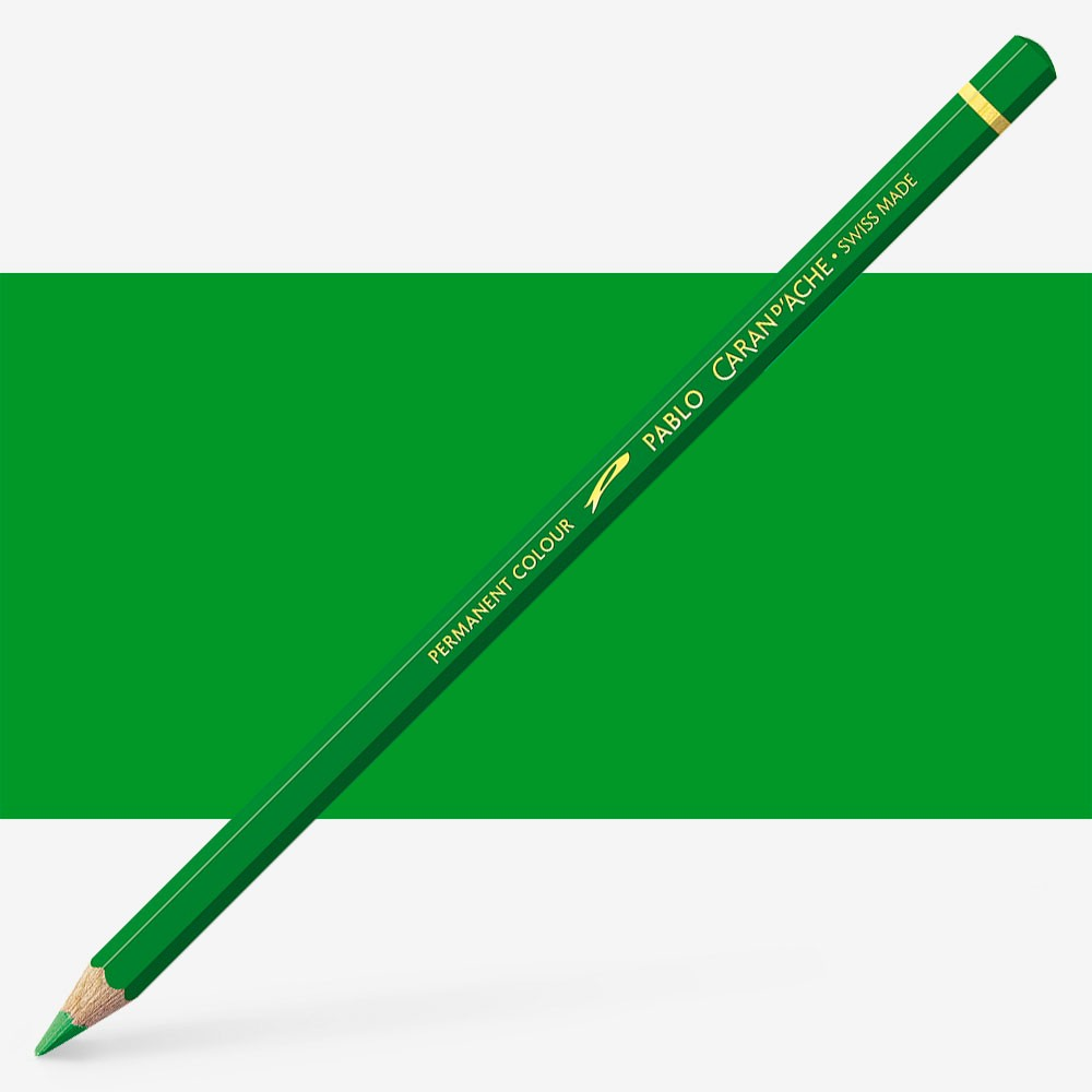 Caran d'Ache : Pablo Coloured Pencil : Grass Green 220