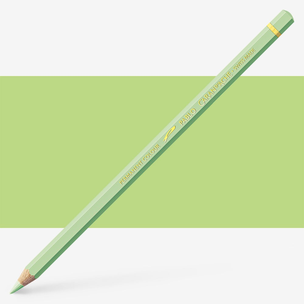 Caran d'Ache : Pablo Coloured Pencil : Light Green 221