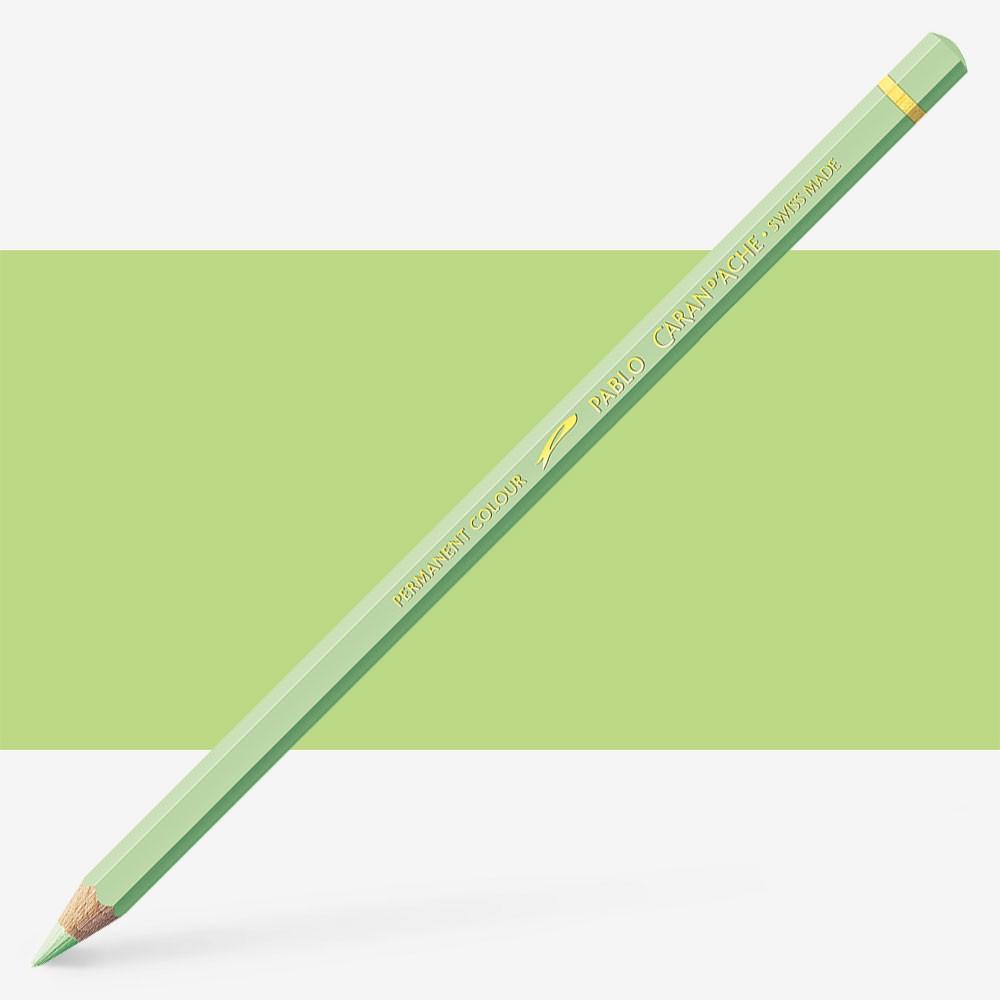 Caran d'Ache : Pablo Coloured Pencil : Light Green 221