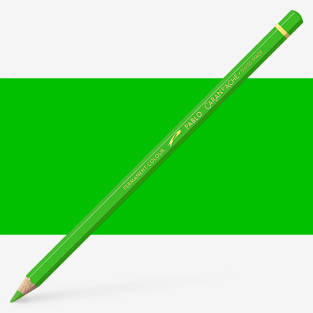 Caran d'Ache : Pablo Coloured Pencil : Yellow Green 230