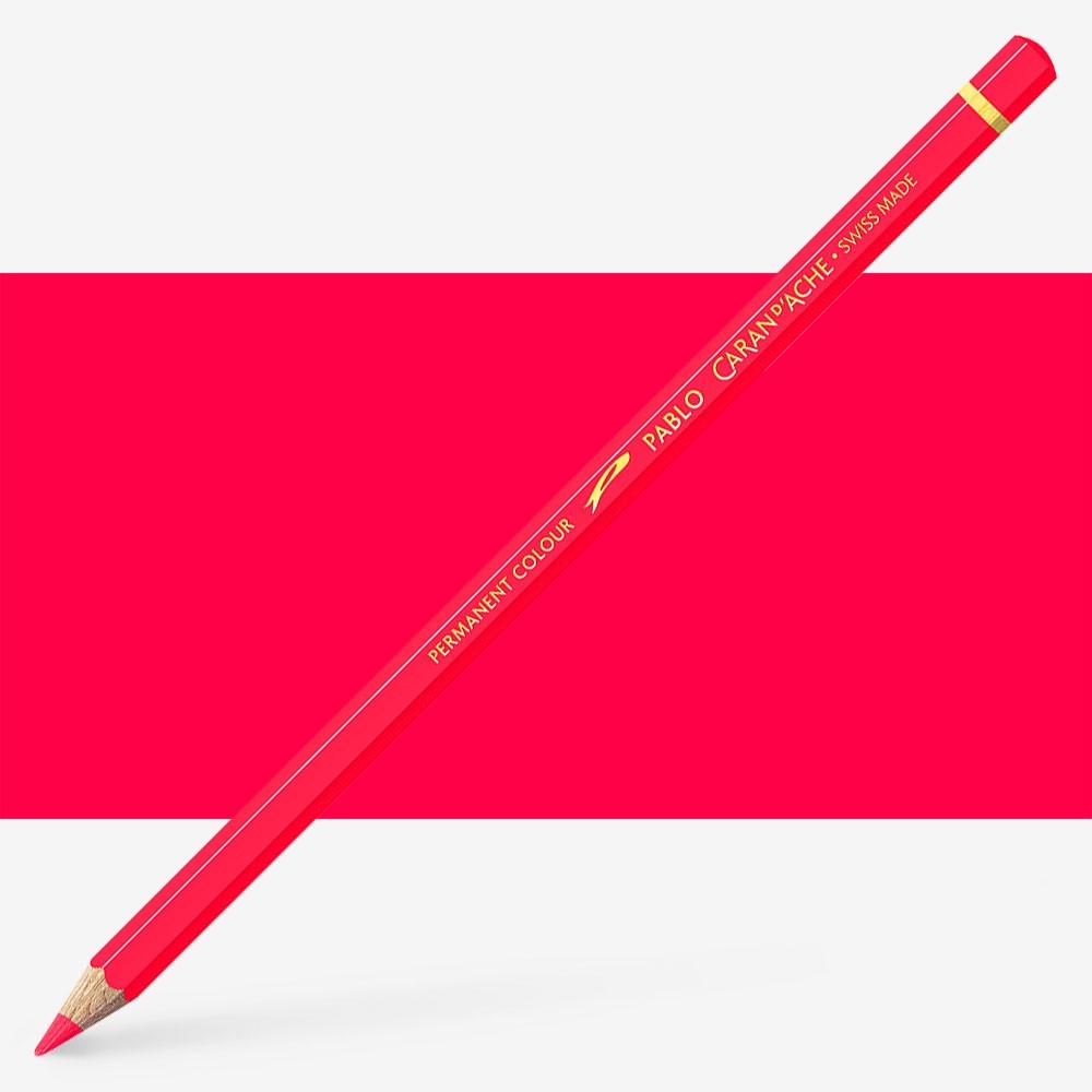 Caran d'Ache : Pablo Coloured Pencil : Ruby Red 280