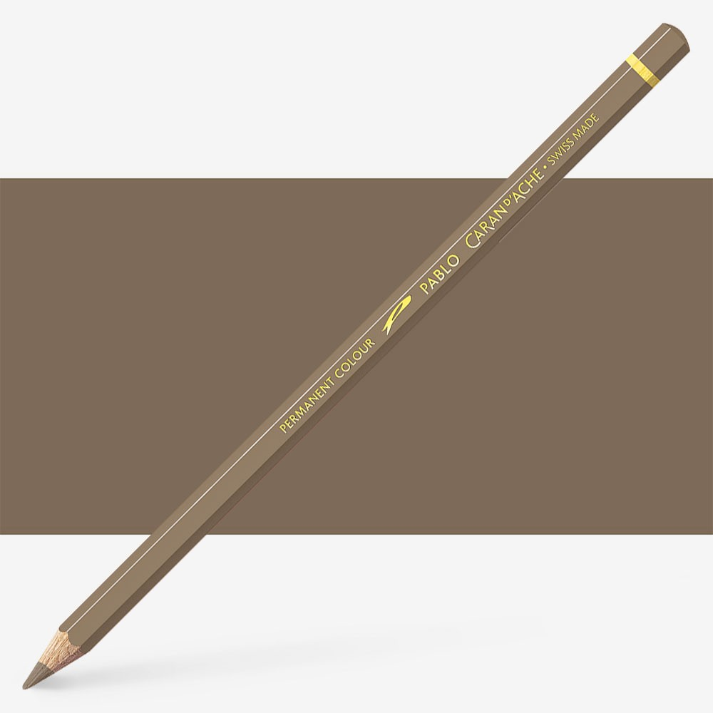 Caran d'Ache : Pablo Coloured Pencil : Cocoa 405