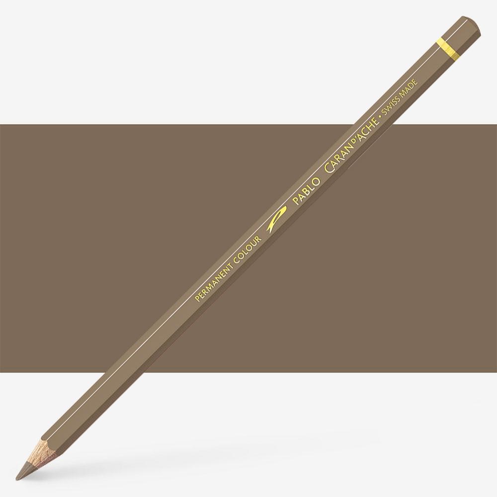 Caran d'Ache : Pablo Coloured Pencil : Cocoa 405