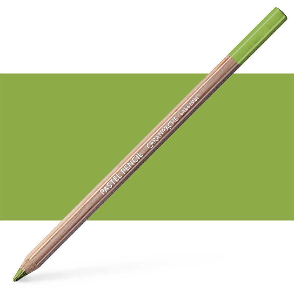 Caran d'Ache : Pastel Pencil : Light Olive 40 Percent