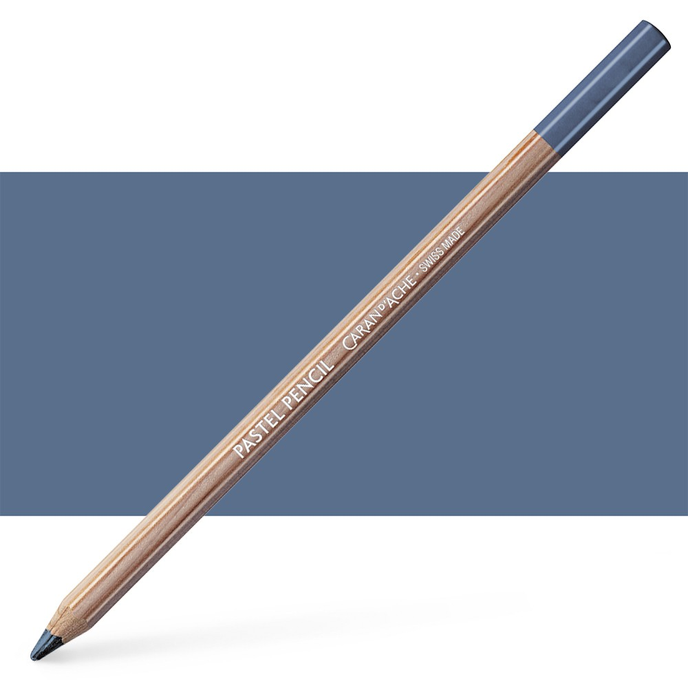 Caran d'Ache : Pastel Pencil : Payne S Grey 50 Percent
