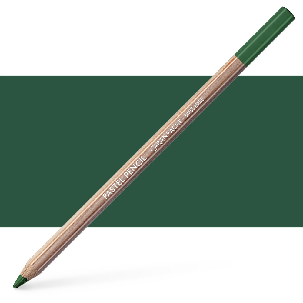 Caran d'Ache : Pastel Pencil : Middle Phthalo. Green