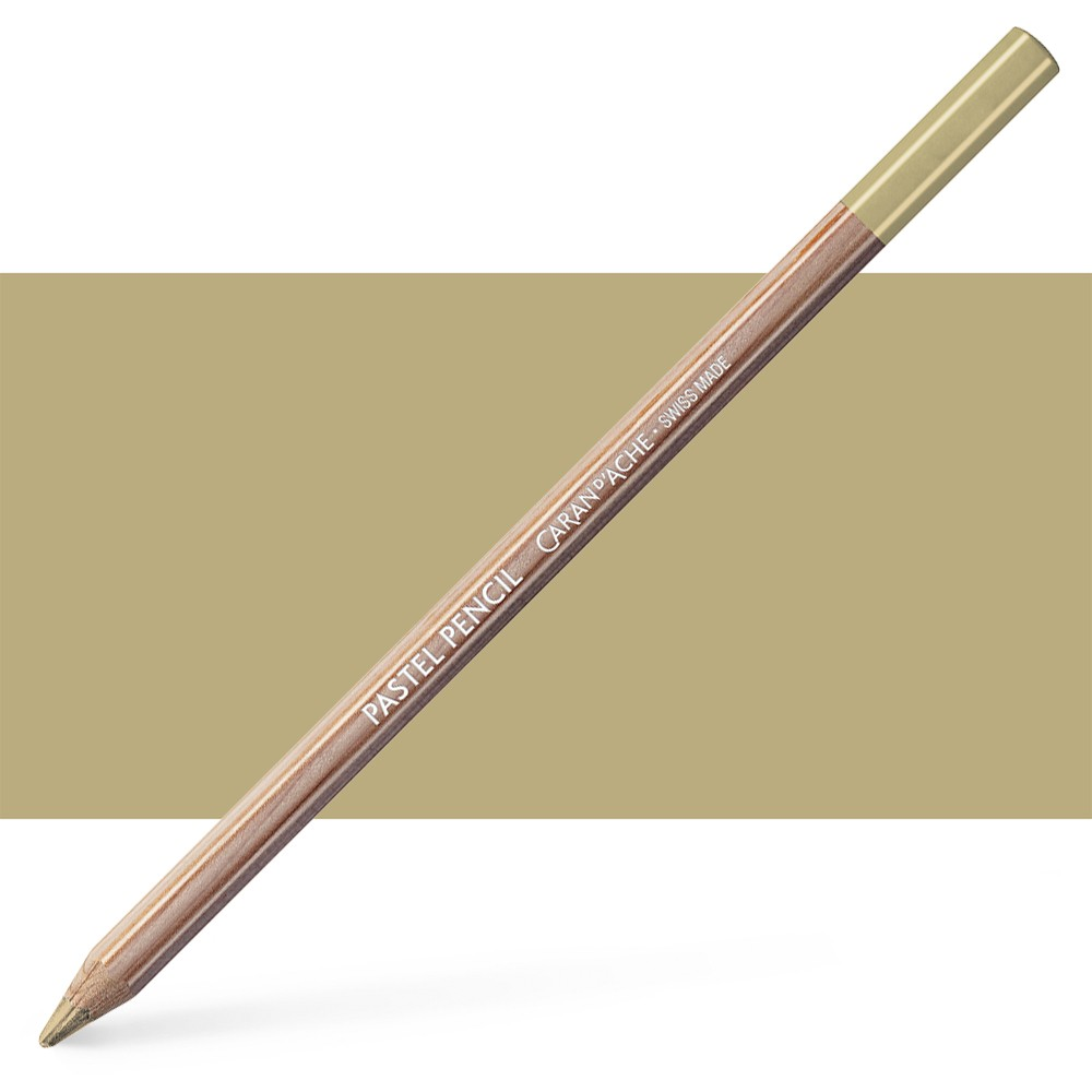 Caran d'Ache : Pastel Pencil : Brown Olive 50 Percent